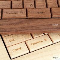 木のキーボード・木ーボード樹種
