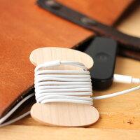 メープル材の木製コード巻き、イトマキ