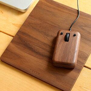 ■木製マウスとマウスパッドのギフトボックス「Gift Box Mouse & Mousepad…