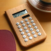 ■木製ソーラー電卓