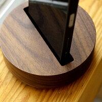 ■木製スピーカースタンド「WoodenSpeakerDrum」