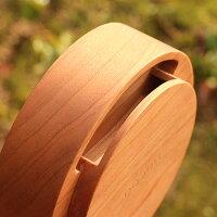 木製スピーカースタンド「WoodenSpeakerDrum」