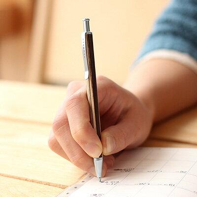 使う度に艶が出る木製携帯ボールペン「MINI BALLPOINT PEN」