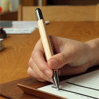 手にしっくりくる天然木、書き心地・使い勝手も心地よいタッチペン&ボールペンです。