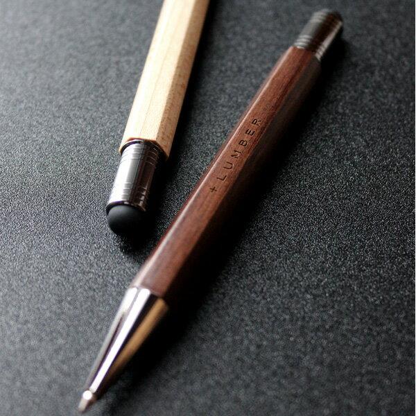 【名入れ】銘木をプラスした木製タッチペン&ボールペン「CLASSIC BALLPOINT WITH TOUCH PEN」