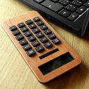 ■【+L MINI2】木製ソーラー電卓「SOLAR POWERED CALCULATOR MINI2」の写真