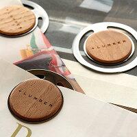 書類整理の目印になるおしゃれな木製ペーパークリップ5枚セット。ブックマークにも