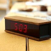 ■【+L】LED表示のデジタルアラーム時計「DIGITAL ALARM CLOCK RED LED」