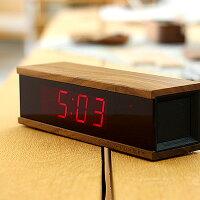 LED表示のデジタルアラーム時計「DIGITALALARMCLOCKREDLED」