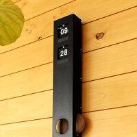 木製振り子とパタパタめくれるフリップがレトロでおしゃれな壁掛けフリップ時計「FLIPCLOCKWALLTYPE」