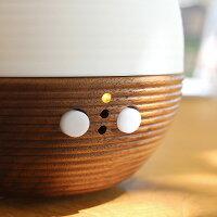 茶筒やお椀等の日本の茶道具を作る際に使われる意匠「盛筋(もりすじ)」を全面にあしらい、品位を漂わせます