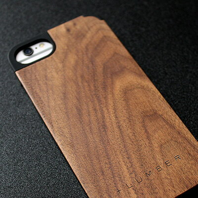 天然木を融合したiPhone6/6S専用木製ケース