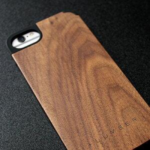 丈夫なPVC素材と天然木を融合したiPhone6専用木製ケース■【+L 6】木製ケース「iPHONE CASE 6」