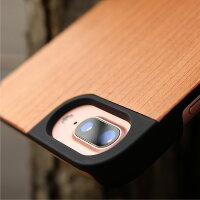 天然木を融合したiPhone7PLUS専用のおしゃれなハードケース