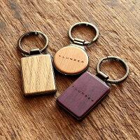 ■【+L】木製キーホルダー・キーリング「KEYRING001」