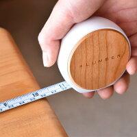 ■【+L】木製メジャー・巻尺「MEASURE3.5M」