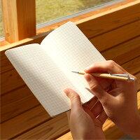 中のノートは全ページ方眼タイプとなっています
