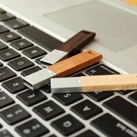 ■【+L】【16GB】木製USBメモリ「USBMEMORY」