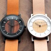 ■ステンレス削り出しケースに銘木を使用した木製腕時計「WATCH 2200」メンズ/レディース