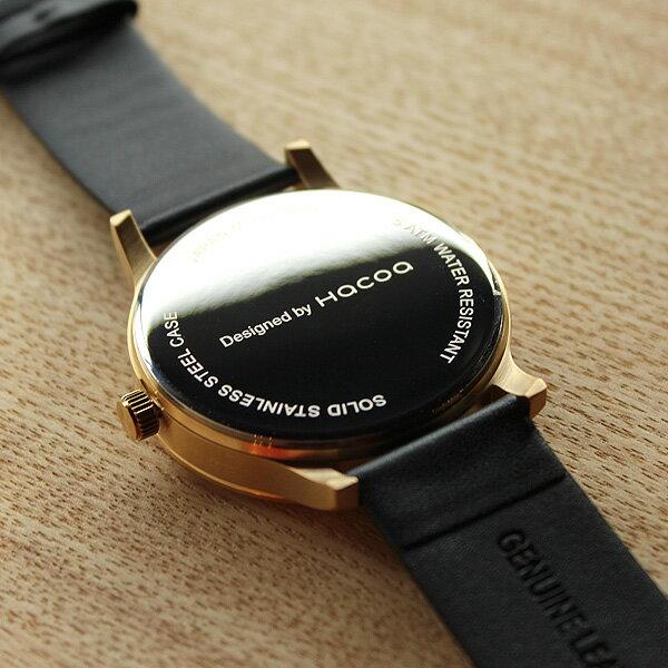 ■5500「+LUMBER WATCH 5500」腕時計 ウォッチ 木製 ウッド メンズ レディース ユニセックス 日本製ムーブメント 生活防水 プレゼント ギフト おしゃれ シンプル ペアウォッチ ビッグフェイス Hacoa