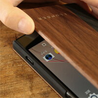 手触り良い塗装を施した木製エクスペリアXZPremiumケース