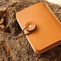 ビジネスを印象的に演出する木と革の名刺ケース名刺入れ「BOOKCARDCASE」