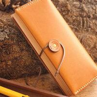 木と革の職人が作る、本の形をしたペンケース「BOOKPENCASEMサイズ」北欧風デザイン