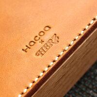 【Hacoa×HERZ】蓋を開ける一連の動作で捺印、木と革の印鑑ケース&捺印マット「STAMPMAT&CASEMサイズ」