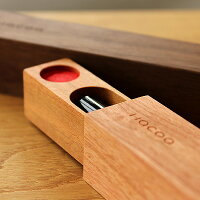 動きが気持ち良い木製印鑑ケース「SealCase(印鑑ケース)」北欧風デザイン