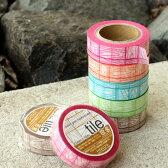 ■【当店オリジナル】マスキングテープ「tile」