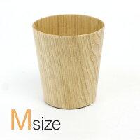 高橋工芸紙のように薄い、軽くて使いやすい木のグラス「kamiグラスワイドMサイズ」