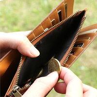 ■コルクレザーの長財布「CONNIEDoubleWallet」
