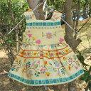 手作り着せ替えお人形ジャンパースカートNO.4【ハンドメイド】【人形】【着せ替え人形】【手作り】【ドール】【お人形】【スカート】【花柄】【楽ギフ_包装】【楽ギフ_のし】