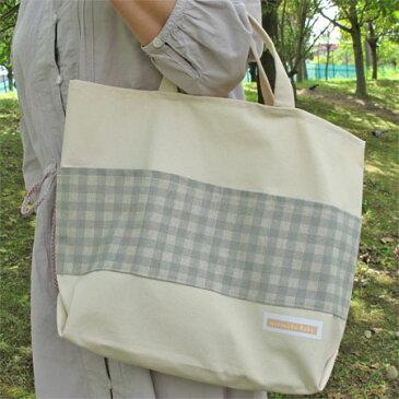 シンプル帆布バッグNO.5【ハンドメイドバッグ】【ハンドバッグ】【バッグ】【レッスンバッグ】【手作り】【ハンドメイド】【手提げ】【手作りバッグ】【シンプル】【ナチュラル】