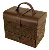 【パンダン】 ソーイングボックス マルチボックス 救急箱 裁縫箱 ジュエリーボックス G-5683B【あす楽対応】