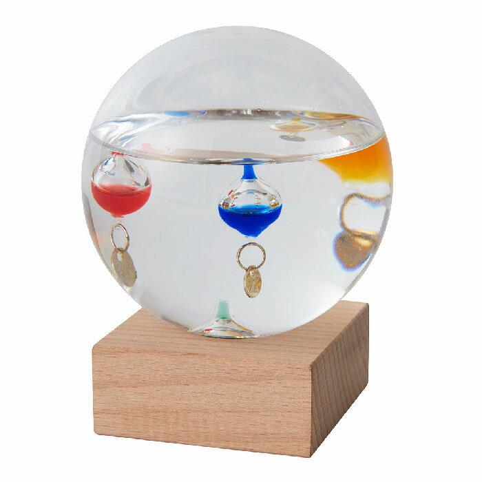 Fun Science ガリレオ ガラスフロート温度計 ドームS 333-209【あす楽対応】