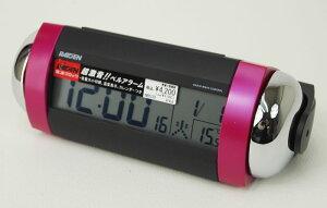 セイコー RAIDEN 大音量電波デジタル目覚まし時計(ピンク) NR530P 【あす楽対応】…