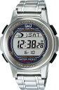 CITIZEN(シチズン)腕時計 SOLARMATE (ソーラーメイト) 電波ソーラー デジタル表示 クロノグラフ 10気圧防水 シルバー MHS5-200 メンズ【あす楽対応】