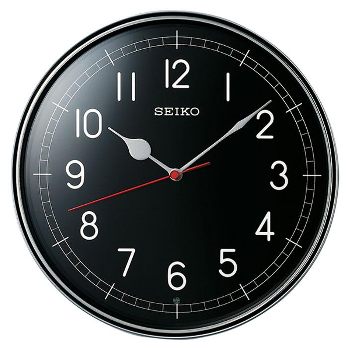 1210432972 SEIKO セイコークロック 掛け時計 電波時計KX253S(銀色メタリック