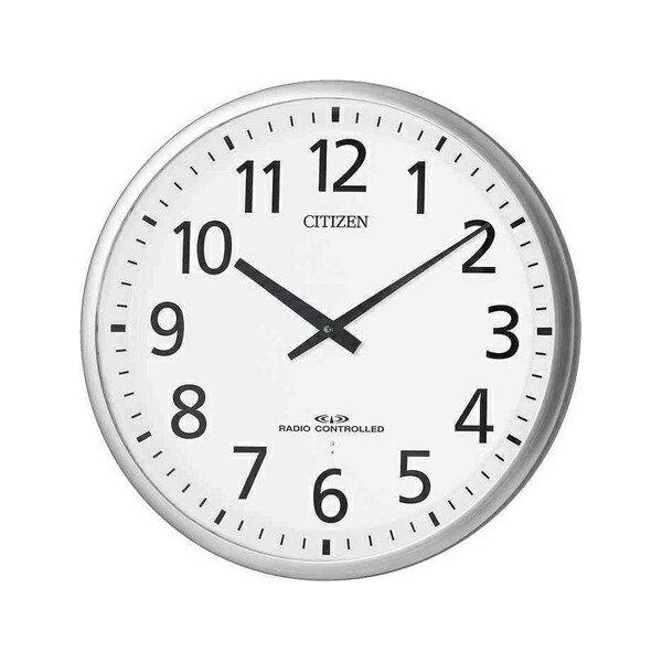 リズム時計 高感度電波オフィス掛時計 スリーウェイブM821 4MY821-019:木馬家具