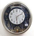 【動画あり】セイコー からくり時計 掛け時計 ウエーブシンフォニー 電波時計 RE561H【あす楽対応】