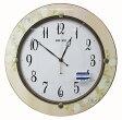取り寄せ品セイコークロック掛け時計スタンダードナチュラルスタイル(アイボリー塗装)KX399A
