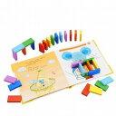 エドインター ドミノ倒し 木のおもちゃ 知育玩具 2歳 3歳...