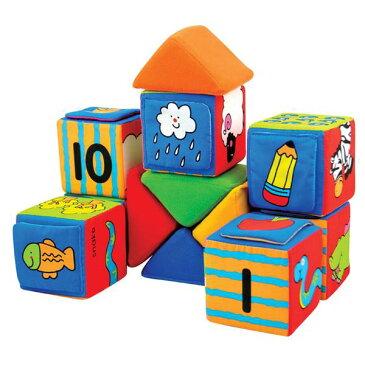ブロックン・ラーン ケーズキッズ 布 おもちゃ 赤ちゃん 0歳 1歳 2歳 積み木 ブロック 誕生日プレゼント