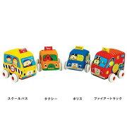 プルバックカー ケーズキッズ 赤ちゃん プレゼント おもちゃ