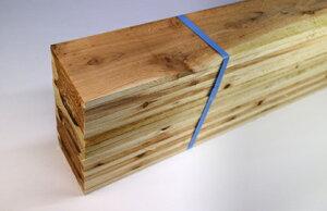 杉板材、荒材(束売り 17枚入り)(野地板)(コンパネ代用可)12x105x約2000厚みx幅…