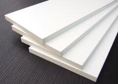 カラー化粧棚板 (白)15ミリx300ミリx900ミリ