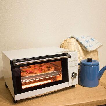 ピエリア ビッグオーブントースター【ピエリア ビッグオーブントースター DOT-1505 おしゃれ トースト 4枚 キッチン用品 北欧 かわいい 一人暮らし ホワイト レッド オーブントースター】