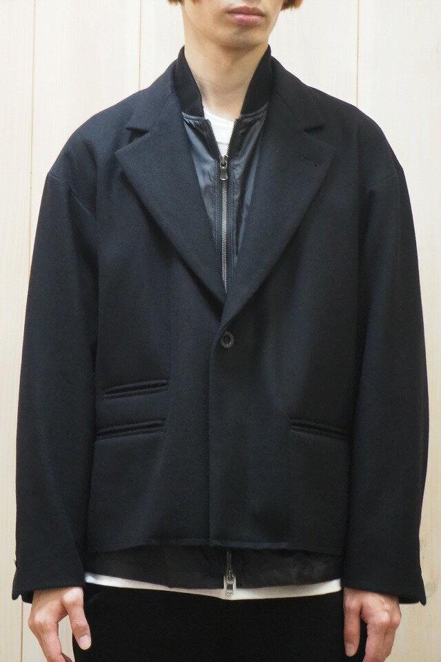 メンズファッション, コート・ジャケット 40OFFThe Viridi-anne VI-3108-06 BLACK sale