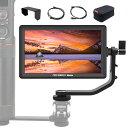 【正規代理店】Feelworld カメラ用液晶モニター 5.5インチIPS 超薄 1920x1080 HDオンカメラビデオモニター 液晶フィールドモニター 4K HDMI信号入力 撮影確認用 Master MA6P 【日本語説明書&一年間保証】